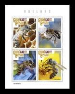 Guinea-Bissau 2019 Mih. 10456/59 Fauna. Bees MNH ** - Guinea-Bissau