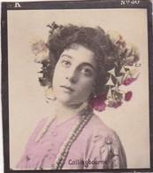 COLLINGBOURNE. COLORISE. CARD TARJETA COLECCIONABLE TABACO. CIRCA 1915 SIZE 4.5x5.5cm - BLEUP - Berühmtheiten