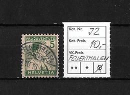 PRO JUVENTUTE → 1915 Trachtenbilder Appenzeller Knabe ►SBK-J2 FEUERTHALEN◄ - Pro Juventute