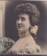 CECILE SOREL. COLORISE. CARD TARJETA COLECCIONABLE TABACO. CIRCA 1915 SIZE 4.5x5.5cm - BLEUP - Berühmtheiten