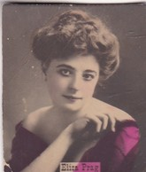 ELIZA PRAG. COLORISE. CARD TARJETA COLECCIONABLE TABACO. CIRCA 1915 SIZE 4.5x5.5cm - BLEUP - Berühmtheiten