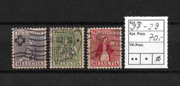 PRO JUVENTUTE → 1917 Trachtenbilder  ►SBK-J7 Bis J9◄ - Pro Juventute