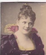 ENNICE. COLORISE. CARD TARJETA COLECCIONABLE TABACO. CIRCA 1915 SIZE 4.5x5.5cm - BLEUP - Berühmtheiten
