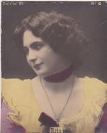 RITA. COLORISE. CARD TARJETA COLECCIONABLE TABACO. CIRCA 1915 SIZE 4.5x5.5cm - BLEUP - Berühmtheiten