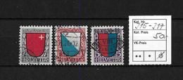 PRO JUVENTUTE → 1920  Kantonswappen  ►SBK-J15 Bis J17◄ - Pro Juventute