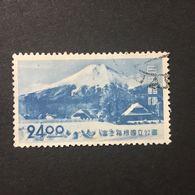 ◆◆◆Japan 1949  Fuji-Hakone  (2nd Issue)  (National Park)    24Yen    USED   AA2494 - 1926-89 Empereur Hirohito (Ere Showa)