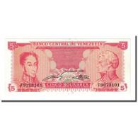 Billet, Venezuela, 5 Bolivares, 1989-09-21, KM:70a, NEUF - Venezuela