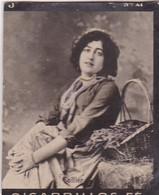 SOLLIER. CIGARRILLOS FE. COLORISE. CARD TARJETA COLECCIONABLE TABACO. CIRCA 1915 SIZE 4.5x5.5cm - BLEUP - Berühmtheiten