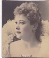 DEMSREUIL. CARD TARJETA COLECCIONABLE TABACO. CIRCA 1915 SIZE 4.5x5.5cm - BLEUP - Berühmtheiten