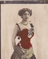 OTERO. COLORISE. CARD TARJETA COLECCIONABLE TABACO. CIRCA 1915 SIZE 4.5x5.5cm - BLEUP - Berühmtheiten
