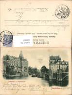 609067,Amsterdam Doelenhotel En Binnenamstel Netherlands - Ansichtskarten
