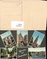 609057,Mehrbild Ak Groeten Uit Amsterdam Netherlands - Ansichtskarten