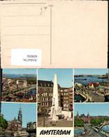609056,Mehrbild Ak Amsterdam Schiff Hafen Netherlands - Ansichtskarten