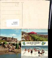 609053,Mehrbild Ak Zandvoort Aan Zee Strand Strandleben Netherlands - Ansichtskarten
