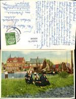 609048,Volendam Holland Tracht Volkstypen Netherlands - Ansichtskarten