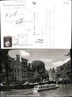 609046,Amsterdam Heerengracht Leidschegracht Schiff Boot Netherlands - Ansichtskarten