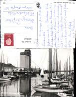 609042,Foto Ak Breskens Jachthaven Met Silo Segelboote Hafen Netherlands - Ansichtskarten