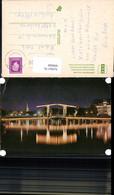 609008,Amsterdam Holland Magere Brug Over De Amstel Brücke Nachtansicht Netherlands - Ansichtskarten