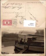 609007,Scheveningen Aan Het Kanaal Schiff Mann M. Kind Netherlands - Ansichtskarten