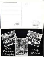 609001,Mehrbild Ak Delft Holland Cafe Restaurant T Oranjehof Netherlands - Ansichtskarten