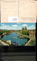 609000,Amsterdam Prins Hendrikkade En Sin Nicolasskerk Kirche Netherlands - Ansichtskarten