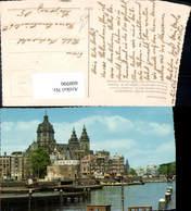 608996,Amsterdam Schreiertoren En Sint Nicolaaskerk Schreiertoren Sankt Nikolaus Kirc - Ansichtskarten