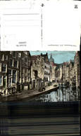 608989,Foto Ak Oud-Amsterdam Amsterdam Achterburgwal Netherlands - Ansichtskarten