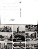 608987,Mehrbild Ak Groningen Martinitoren Goudkantoor Netherlands - Ansichtskarten