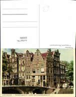 608982,Amsterdam Prinsegracht Brouwersgracht Netherlands - Ansichtskarten