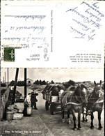 608977,Foto Ak Eilaun De Feningas Mooi De Droswooin Pferdefuhrwerk Müllabfuhr Netherl - Ansichtskarten