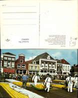 608962,Holland Alkmaar Kaasmarkt Käsemarkt Tracht Netherlands - Ansichtskarten