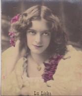 LU LISKA. COLORISE. CARD TARJETA COLECCIONABLE TABACO. CIRCA 1915 SIZE 4.5x5.5cm - BLEUP - Berühmtheiten