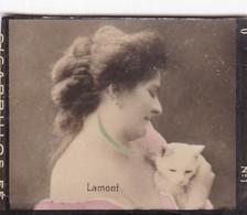 LAMONT. COLORISE. CARD TARJETA COLECCIONABLE TABACO. CIRCA 1915 SIZE 4.5x5.5cm - BLEUP - Berühmtheiten