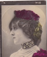 MAY. COLORISE. CARD TARJETA COLECCIONABLE TABACO. CIRCA 1915 SIZE 4.5x5.5cm - BLEUP - Berühmtheiten
