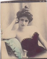 CAVELLE. COLORISE. CARD TARJETA COLECCIONABLE TABACO. CIRCA 1915 SIZE 4.5x5.5cm - BLEUP - Berühmtheiten