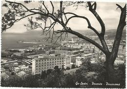 W2553 Genova Sestri - Panorama Da Ponente / Viaggiata 1954 - Genova