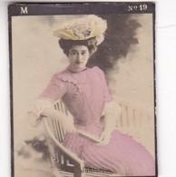 JUNTORI. COLORISE. CARD TARJETA COLECCIONABLE TABACO. CIRCA 1915 SIZE 4.5x5.5cm - BLEUP - Berühmtheiten