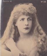 BIGNON. COLORISE. CARD TARJETA COLECCIONABLE TABACO. CIRCA 1915 SIZE 4.5x5.5cm - BLEUP - Berühmtheiten