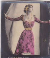 CAVALIERI. CIGARRILLOS FE. COLORISE. CARD TARJETA COLECCIONABLE TABACO. CIRCA 1915 SIZE 4.5x5.5cm - BLEUP - Berühmtheiten
