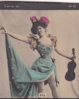 VILLY. COLORISE. CARD TARJETA COLECCIONABLE TABACO. CIRCA 1915 SIZE 4.5x5.5cm - BLEUP - Berühmtheiten