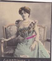FREVILLE. CIGARRILLOS LOURDES. COLORISE. CARD TARJETA COLECCIONABLE TABACO. CIRCA 1915 SIZE 4.5x5.5cm - BLEUP - Berühmtheiten