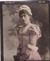 HATTO. LA PLATA Y LA ELEGANCIA. COLORISE. CARD TARJETA COLECCIONABLE TABACO. CIRCA 1915 SIZE 4.5x5.5cm - BLEUP - Berühmtheiten