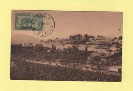 Cameroun - Yaounde  -le Centre Commercial Vu Du Centre Administratif (non Voyagee) - Kamerun (1915-1959)