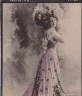 ANNE HELD. COLORISE. CARD TARJETA COLECCIONABLE TABACO. CIRCA 1915 SIZE 4.5x5.5cm - BLEUP - Berühmtheiten