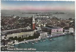 W2562 Venezia - Murano - Panorama Aereo Vista Aerea Aerial View Vue Aerienne / Viaggiata 1953 - Venezia