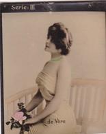 DE VERE. HABANILLOS LA PLATA. COLORISE. CARD TARJETA COLECCIONABLE TABACO. CIRCA 1915 SIZE 4.5x5.5cm - BLEUP - Berühmtheiten