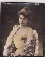 REJANE. HABANILLOS LA PLATA. COLORISE. CARD TARJETA COLECCIONABLE TABACO. CIRCA 1915 SIZE 4.5x5.5cm - BLEUP - Célébrités