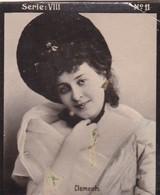 CLEMENTS. HABANILLOS LA PLATA. COLORISE. CARD TARJETA COLECCIONABLE TABACO. CIRCA 1915 SIZE 4.5x5.5cm - BLEUP - Berühmtheiten