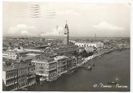 W2567 Venezia - Vista Aerea Panorama Aereo Aerial View Vue Aerienne / Viaggiata 1950 - Venezia