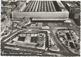 W2569 Roma - Stazione Termini - Panorama Aereo Vista Aerea Aerial View Vue Aerienne / Viaggiata 1952 - Stazione Termini